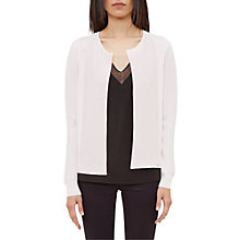Buy Ted Baker Hetts Ottoman Detail Cardigan Online at johnlewis.com