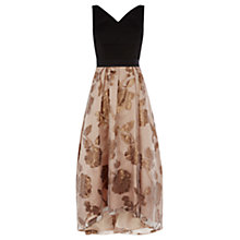 Buy Coast Reza Roccabella Dress, Gold Online at johnlewis.com