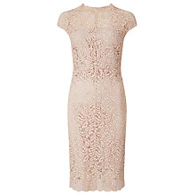 Buy Phase Eight Becky Lace Dress, Cameo Online at johnlewis.com