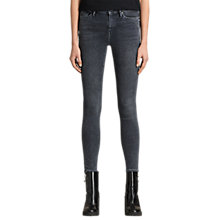 Buy AllSaints Eve Jeans, Raven Black Online at johnlewis.com