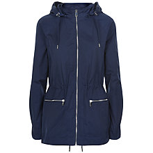 Buy Jaeger Detachable Hood Parka, Midnight Online at johnlewis.com
