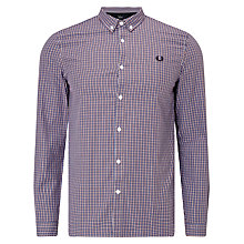 Buy Fred Perry Three-Colour Basketweave Shirt Online at johnlewis.com