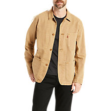 Buy Levi's Engineers 2.0 Coat, Harvest Gold Online at johnlewis.com