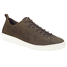 Buy Paul Smith Miyata Nubuck Trainers, Dark Brown Online at johnlewis.com