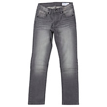 Buy Polarn O. Pyret Children's Slim Fit Denim Jeans, Grey Online at johnlewis.com
