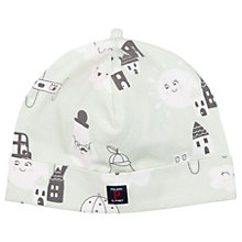 Buy Polarn O. Pyret Baby Beanie Hat, Green Online at johnlewis.com