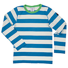 Buy Polarn O. Pyret Children's Stripe Long Sleeve Cotton T-Shirt Online at johnlewis.com