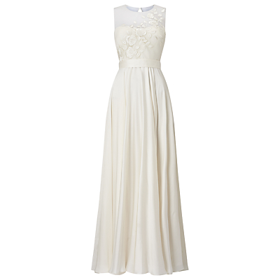 Phase Eight Bridal Clarabella Wedding Dress, Cream