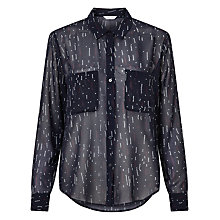 Buy Samsoe & Samsoe Molly Long Sleeve Shirt, Etoile Online at johnlewis.com