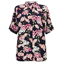 Buy Oui Floral Print Shirt, Multi Online at johnlewis.com