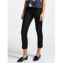 Buy Samsoe & Samsoe Lugo Slim Fit Trousers, Black Online at johnlewis.com