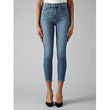 Buy Paige Margot Crop Ultra Skinny Jeans, Lexie Non Destructed Online at johnlewis.com