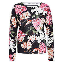 Buy Oui Printed Jumper, Multi Online at johnlewis.com