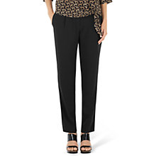 Buy Marc Cain Drawstring Trousers, Black Online at johnlewis.com