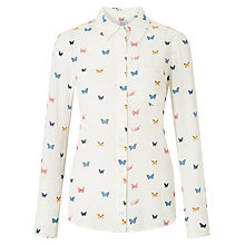 Buy Rails Kate Printed Top, White Butterfly Online at johnlewis.com