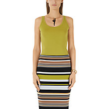 Buy Marc Cain Jersey Vest, Lime Online at johnlewis.com