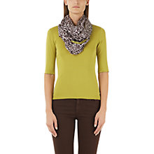 Buy Marc Cain Stretch Cotton Jersey Top, Lime Online at johnlewis.com