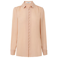 Buy L.K. Bennett Mia Natural Silk Top, Pink Online at johnlewis.com