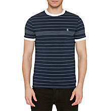 Buy Original Penguin Engineered Fine Stripe T-Shirt Online at johnlewis.com