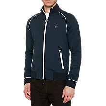 Buy Original Penguin Earl Full-Zip Track Top Jacket, Dark Sapphire Online at johnlewis.com