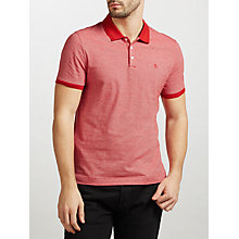 Buy Original Penguin Feeder Stripe Slim Fit Polo Shirt Online at johnlewis.com