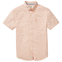 Buy Original Penguin Jaspe Short Sleeve Slim Gingham Shirt Online at johnlewis.com