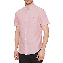 Buy Original Penguin Oxford Short Sleeve Shirt, Samba Online at johnlewis.com