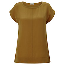 Buy Jigsaw Silk Front Stitch Detail Top Online at johnlewis.com