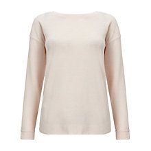 Buy Miss Selfridge Wrap Back Cut and Sew Top, Pink Online at johnlewis.com