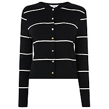 Buy L.K. Bennett Mallory Striped Cardigan, Multi Online at johnlewis.com