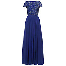 Buy Adrianna Papell Beaded Top And Tulle Skirt Dress Online at johnlewis.com