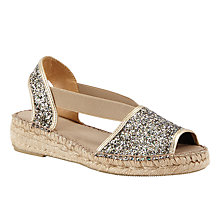 Buy John Lewis Laci Slingback Open Toe Espadrilles, Multi Online at johnlewis.com