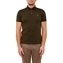 Buy Ted Baker Clay Flat Knit Collar Polo Shirt Online at johnlewis.com