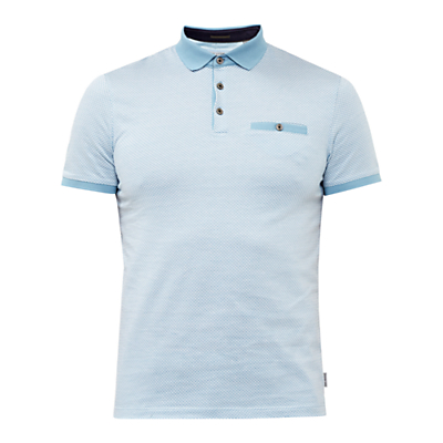 Ted Baker Morrow Jacquard Polo Shirt.