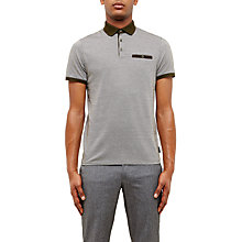 Buy Ted Baker Morrow Jacquard Polo Shirt Online at johnlewis.com