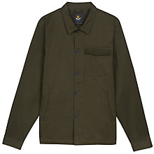 Buy Lyle & Scott Shirt Jacket, Dark Sage Online at johnlewis.com