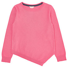 Buy Jigsaw Girls' Asymmetric Hem Jumper Online at johnlewis.com