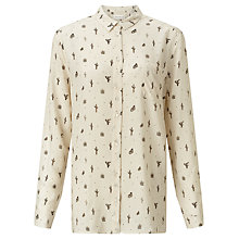 Buy Harris Wilson Echappee Shirt, Ecru Online at johnlewis.com