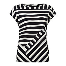 Buy Fenn Wright Manson Bordeaux Stripe Top, Multi Online at johnlewis.com