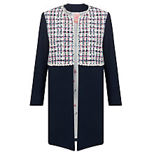 Buy Vilagallo Helen Tweed Jacket, Navy Online at johnlewis.com