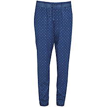 Buy French Connection Altman Drawstring Trousers, Indigo/Multi Online at johnlewis.com