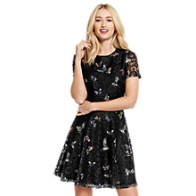 Buy Oasis Princes Trust Lace Dress, Black Online at johnlewis.com