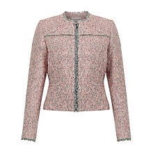 Buy Fenn Wright Manson Bruges Jacket, Pink Tweed Online at johnlewis.com