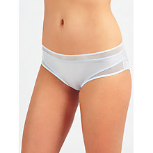 Buy Calvin Klein Underwear Naked Touch Hipster Briefs, Ice Blue Online at johnlewis.com