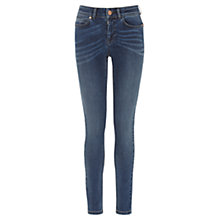 Buy Oasis Premium Skinny Cherry Jeans, Denim Online at johnlewis.com