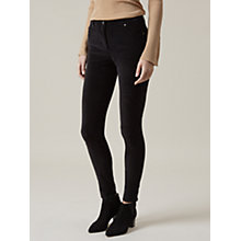 Buy Hobbs Willow Moleskin Jeans, Black Online at johnlewis.com