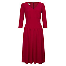 Buy Hobbs Venise Dress, Red Online at johnlewis.com