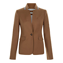 Buy Hobbs Esme Jacket, Vicuna Online at johnlewis.com
