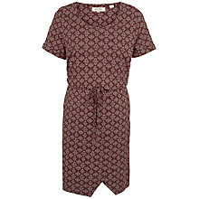 Buy Fat Face Cally Stitching Stars Dress, Ganache Online at johnlewis.com