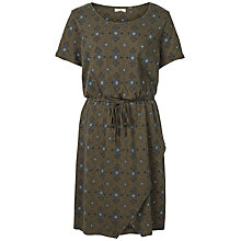 Buy Fat Face Cally Folk Geo Dress, Khaki Online at johnlewis.com